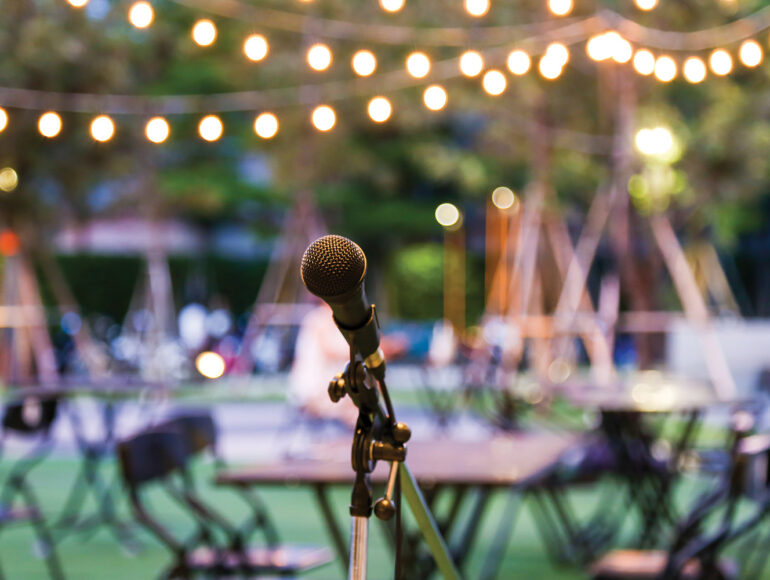 Outdoor-Microphone-Entertainment