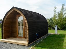 Try out our camping pods