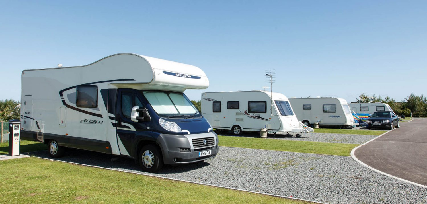 Seasonal touring pitches in Lincolnshire