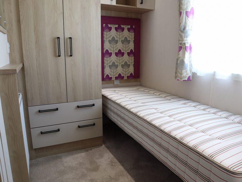 Platinum caravan twin bedroom