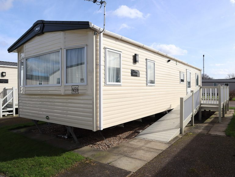 Luxury 6 Berth, Disabled Caravan