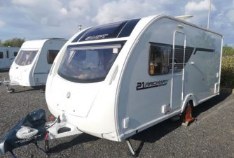 Swift Sprite Sport Archway, 4 Birth, 2014 Model
