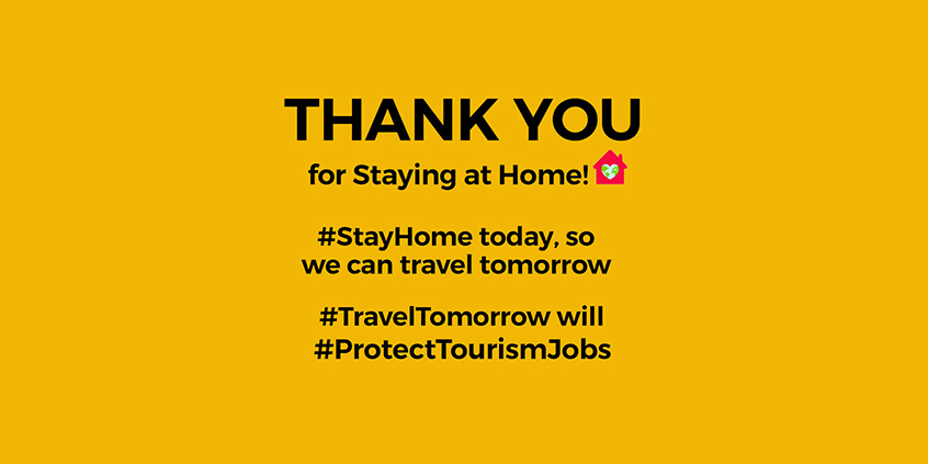 Thank You For Staying at Home