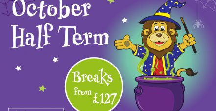October half term breaks from just £127!