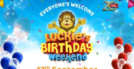 Luckie's Birthday Weekend!