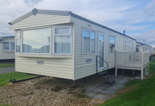 Cosalt Coaster Super 8 berth 3 bedrooms Double glazed and electric heating